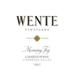 Wente Vineyards 'Morning Fog' Chardonnay 2017 image