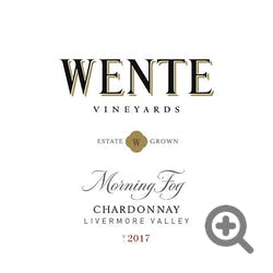 Wente Vineyards 'Morning Fog' Chardonnay 2017