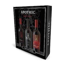 Apothic Wines 3btl Gift Set Crush, Dark, Red Blend image