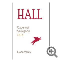 Hall Winery Cabernet Sauvignon 2015