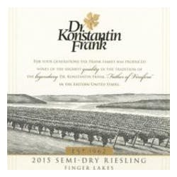 Dr. Frank 'Semi Dry' Riesling 2017 image