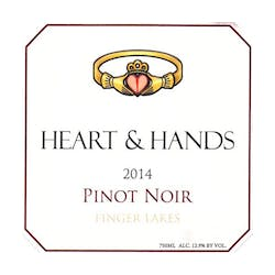 Heart & Hands Wine Company Pinot Noir 2017