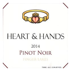 Heart & Hands Wine Company Pinot Noir 2017 image