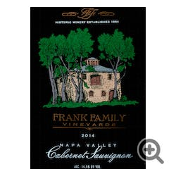 Frank Family Vineyards Cabernet Sauvignon 2015