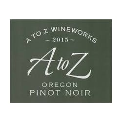 A to Z Winery Pinot Noir 2015