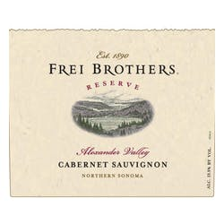 Frei Brothers 'Reserve' Cabernet Sauvignon 2016 image