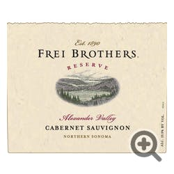 Frei Brothers 'Reserve' Cabernet Sauvignon 2016