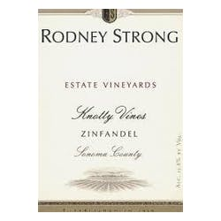 Rodney Strong 'Knotty Vines' Zinfandel 2015 image