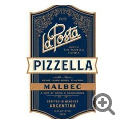 La Posta 'Pizzella Vineyard' Malbec 2017