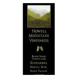 Howell Mountain Black Sears Zinfandel 2004 image