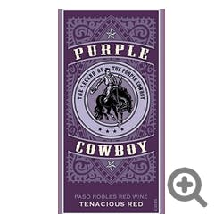 Purple Cowboy Tenacious Red Red Blend 2016
