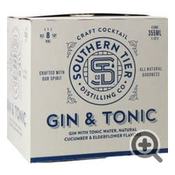 Southern Tier Gin & Tonic 4-355ml Cans