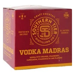 Southern Tier 'Vodka Madras' 4-355ml Cans image
