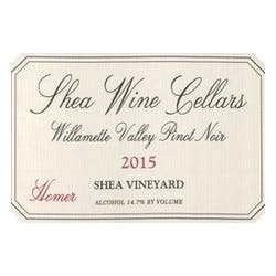 Shea Wine Cellars 'Homer' Pinot Noir 2015 image