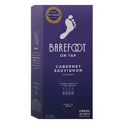 Barefoot Winery 'On Tap' Cabernet Sauvignon 3.0L image