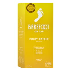 Barefoot Winery 'On Tap' Pinot Grigio 3.0L image