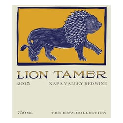 Hess Collection 'Lion Tamer' Red Blend 2016 image