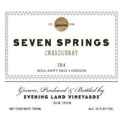 Evening Land Seven Springs Chardonnay 2016 image