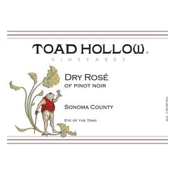 Toad Hollow 'Eye of the Toad' Pinot Noir Rose 2018 image