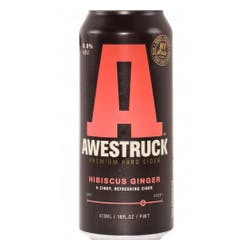Awestruck Ciders 'Hibiscus Ginger' Hard Cider 4-16oz Cans image