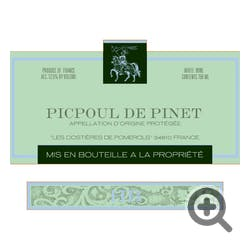 Hugues Beaulieu Picpoul de Pinet 2018