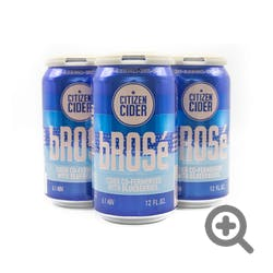 Citizen Cider 'Brose' Blueberry Cider 4-12oz Cans