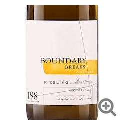 Boundary Breaks Riesling No. 198 Reserve 2017