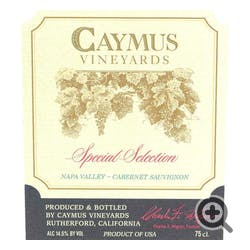 Caymus Vineyards Special Selection Cabernet Sauv 2015
