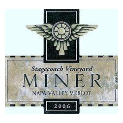Miner Family 'Stagecoach' Merlot 2007 image