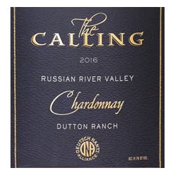 The Calling 'Dutton Ranch' Chardonnay 2017 image