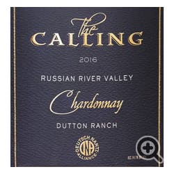 The Calling 'Dutton Ranch' Chardonnay 2017