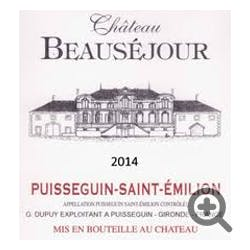 Chateau Beausejour Cuvee Speciale Puisseguin 2015