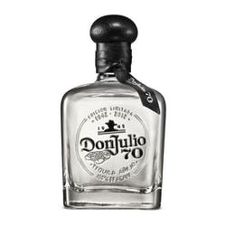 Don Julio '70th Anniversary' Anejo Claro Tequila 750ml image