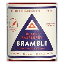 Cardinal Spirits 'Bramble' Black Raspberry Vodka image