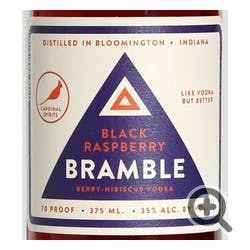 Cardinal Spirits 'Bramble' Black Raspberry Vodka