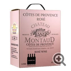 Chateau Montaud Provence Rose 2018 3.0L