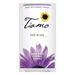 Tiamo Organic Red Wine 375ml can image