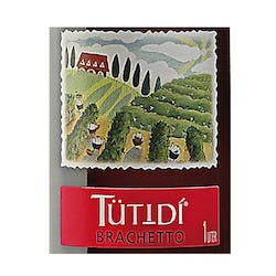 Tutidi 'Brachetto' Semi Sweet Red 1.0L image