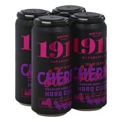 1911 Cidery 'Black Cherry' Hard Cider 4-16oz Cans image
