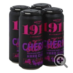 1911 Cidery 'Black Cherry' Hard Cider 4-16oz Cans
