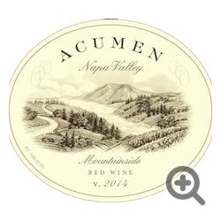 Acumen Mountainside Red Wine 2015