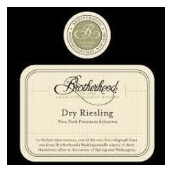 Brotherhood Winery 'Dry' Riesling 2017 image