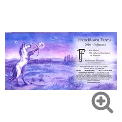 Frenchtown Farms Suncrest Vyd 'Indigeaux' Red Blend 2016