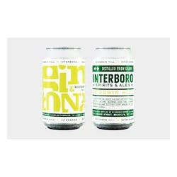 Interboro Gin & Tonic 375ml Cans image