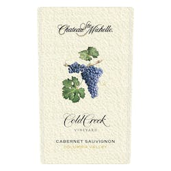 Cht Ste Michelle 'Cold Creek' Cabernet 2014 image