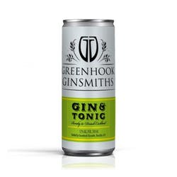 Greenhook Ginsmith 'Gin & Tonic' 200ml Cans image
