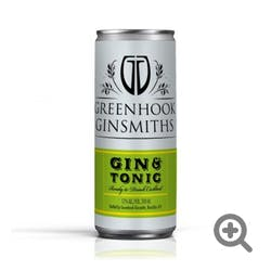 Greenhook Ginsmith 'Gin & Tonic' 200ml Cans