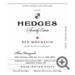 Hedges 'Red Mountain' Estate 2016