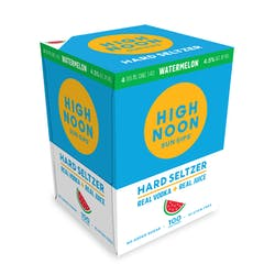 High Noon 'Watermelon' Vodka and Soda 4-355ml Cans image