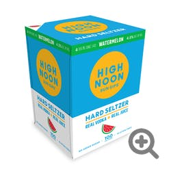 High Noon 'Watermelon' Vodka and Soda 4-355ml Cans